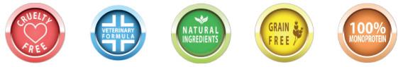 Terveelliset ja luonnolliset raaka-aineet